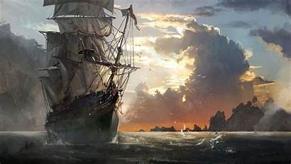 Pirate Ship Cool Ships Mobile Wallpapers Backgrounds