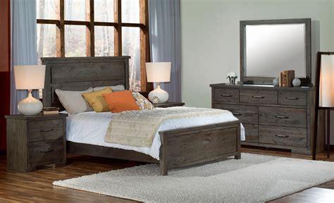 Pine Ridge 5piece Queen Bedroom Set  Slate Leon's