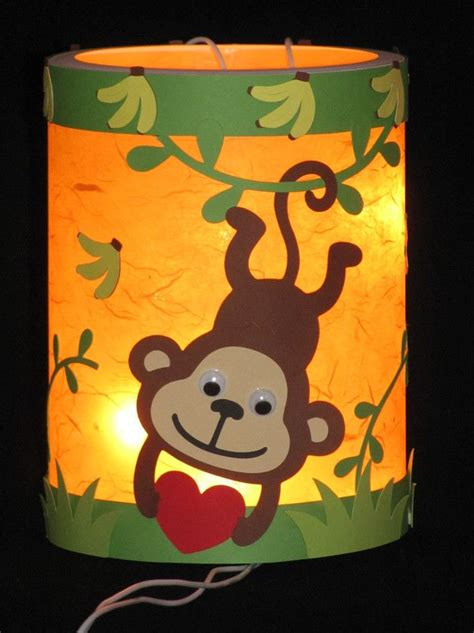 laterne affe basteln santa martin lantern quot monkey quot martinslaterne 3d element