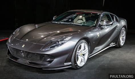 Discover the 2021 ferrari 812 superfast: Ferrari 812 Superfast debuts in Malaysia - RM1.58 mil