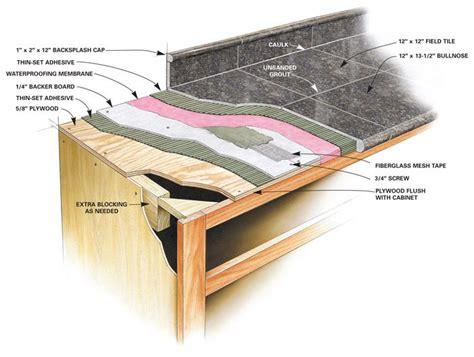 granite countertops installation best 25 granite tile countertops ideas on