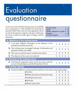 training evaluation form 15 download free documents in With job evaluation questionnaire template