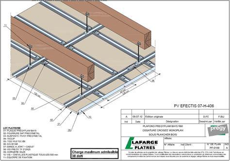 installation thermique plafond coupe feu 2hamsan