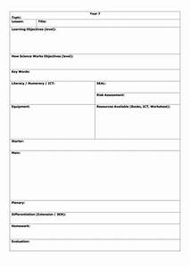 lesson plan template by mjaekel teaching resources tes With blank lesson plan template ks1