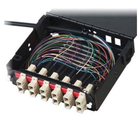 Audio Equipment Rack Cabinet by Corning Fiber Optic Wall Mount Housing 1ru
