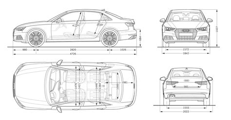 typical dimensions of a car image gallery car measurements
