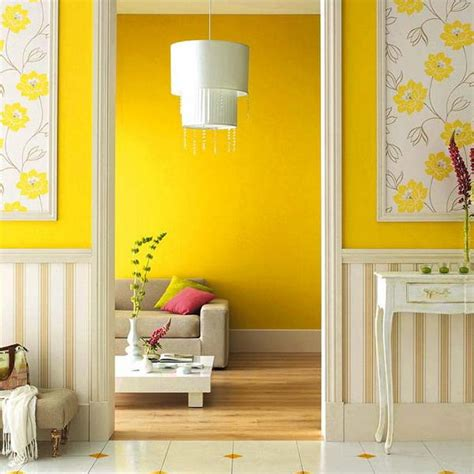 dazzling interior design  decorating ideas modern yellow color combinations