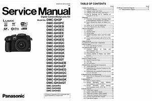 Panasonic Lumix Service Manuals