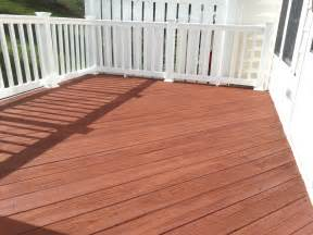 why shouldn t you use a solid stain or paint on your deck