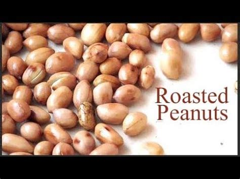 how to roast peanuts how to fry peanuts roasted peanuts recipe roast peanuts let s cook youtube