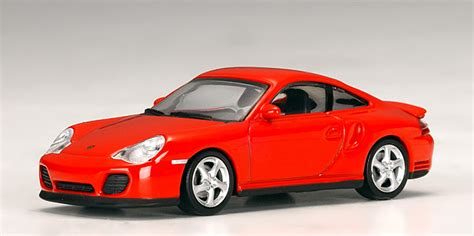 Autoart Porsche 911 Turbo (996)  Red (20311) In 164