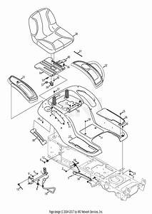 Troy Bilt 13aa92kp066 Tb2450  2013  Parts Diagram For Seat