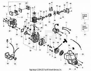 Poulan Pp110 Gas Trimmer  110 Gas Trimmer Parts Diagram