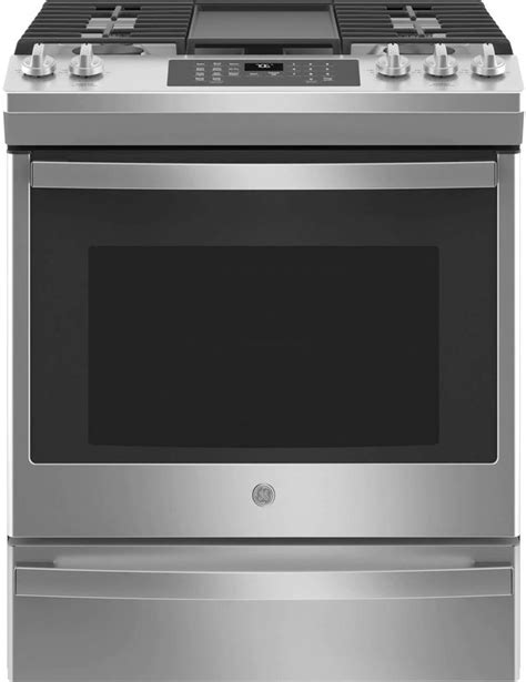 ge    convection gas range jgsd spencers tv appliances