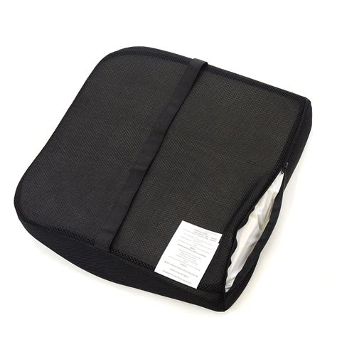 memory foam seat cushion for lower back support seat