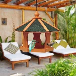 Oiseaux Decoration Exterieur : mangeoire oiseaux achat vente mangeoire oiseaux pas cher cdiscount ~ Melissatoandfro.com Idées de Décoration