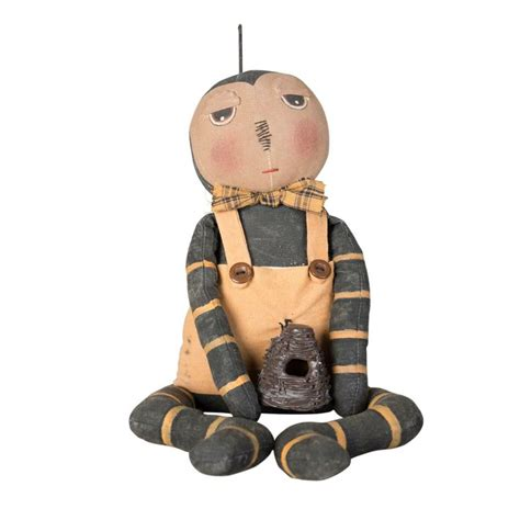 for decorative purposes only bee doll honey traditional fabric doll filled with poly hollow fill material for