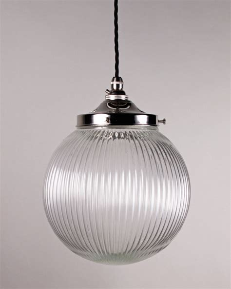 goodrich prismatic globe pendant light lighting