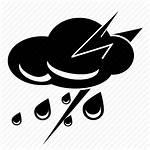 Rain Icon Heavy Storm Svg Library Icons