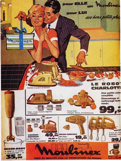 publicité cuisine les femmes dans la publicité évolution de 1950 à 1970
