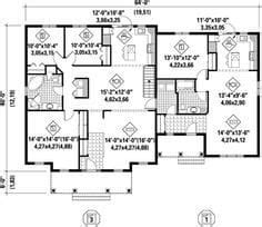ranch house plans  inlaw apartment  home plans design