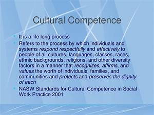 PPT - Culturall... Cultural Competency