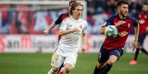 Real Madrid vs Osasuna | Día, hora y canal para ver EN ...