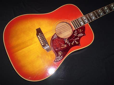 gibson hummingbird  sunburst guitar  sale glenns