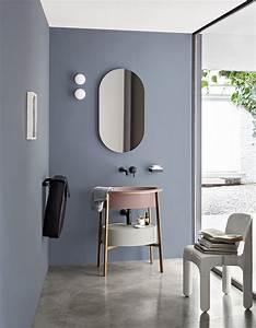 couleur salle de bains 15 astuces pour apporter de la With couleur mur bureau maison 16 deco abattant wc