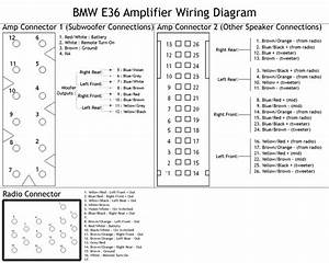 E36 Amp Diagram
