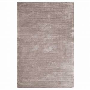 tapis de salon contemporain gris en viscose With tapis contemporain gris
