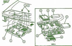 1992 Lincoln Continental Engine Front Fuse Box Diagram