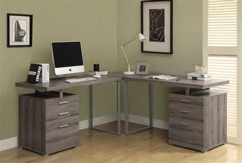 corner office desk for space saving elegant furniture design