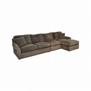 74 off macy39s macy39s modern concepts charcoal gray With corduroy sectional sofa with chaise