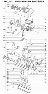 Windsor Sensor Xp Srxp18 Repair Parts  U0026 Diagrams