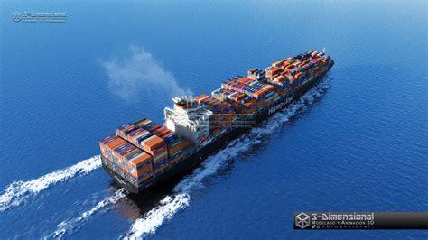 ©️ 3-Dimensionarte - Container Ship - Savannah Express
