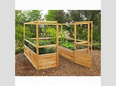 Gardens to Gro 8 x 8 ft DeerProof Vegetable Garden Kit