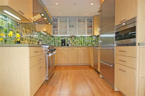 Green Remodel-gourmet Galley Kitchen Remodel