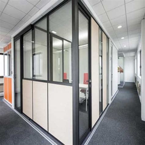 aluminium wall partition  rs  square feet
