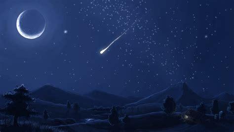 falling stars meteors wallpapers wallpaper wednesday hongkiat