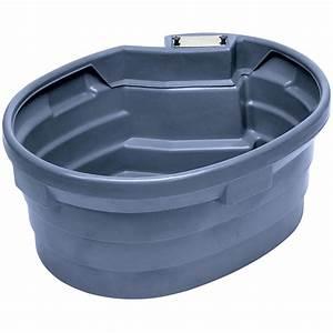 Bac A Eau Plastique : bac eau pour chevaux en plastique ovale avec rebord ~ Dailycaller-alerts.com Idées de Décoration