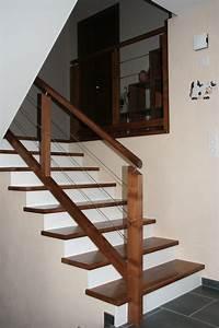 Habillage Escalier Bois : habillage bois 2 ambiance escalier ~ Dode.kayakingforconservation.com Idées de Décoration