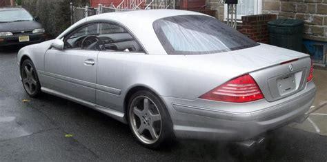 2001 Mercedes Benz Cl 500