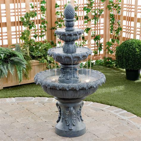 Kenroy Costa Brava Outdoor Fountain  Fountains At Hayneedle