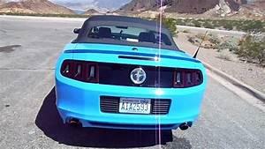ford mustang convertible 2013 - rental car las vegas - YouTube