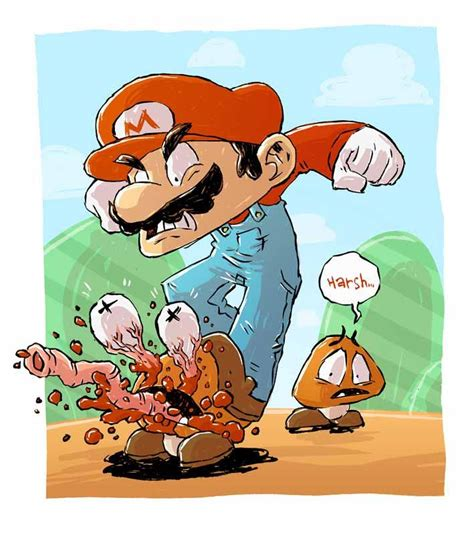 Awesome Collection Of Super Mario Fanart Fun Stuff
