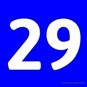 Printable Numbers 1-50 Blue | Printable Numbers Org