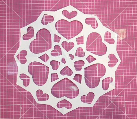 heart snowflake  project snowflake repeat crafter