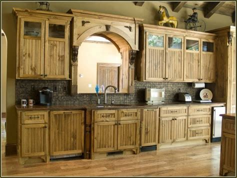 23 Remarkable Unfinished Pine Cabinets For Your Kitchen
