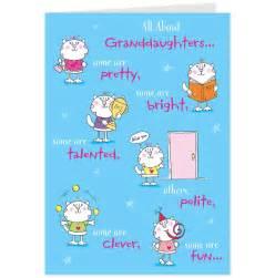Funny Birthday Cards Granddaughter